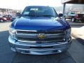 2013 Blue Topaz Metallic Chevrolet Silverado 1500 LT Extended Cab 4x4  photo #3