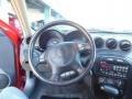 2004 Pontiac Grand Am Dark Pewter Interior Steering Wheel Photo