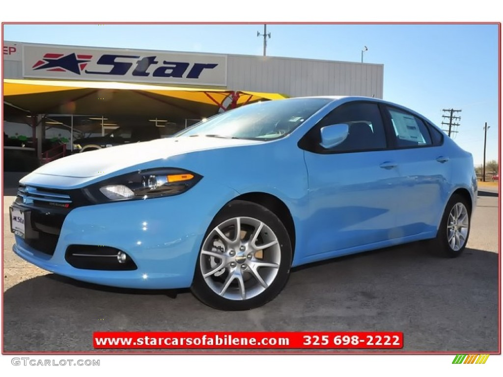 2013 laguna blue dodge dart rallye 74732657 gtcarlot. Black Bedroom Furniture Sets. Home Design Ideas