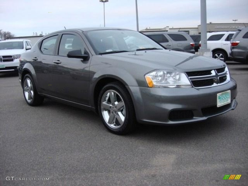 Tungsten Metallic 2013 Dodge Avenger SE Exterior Photo ...
