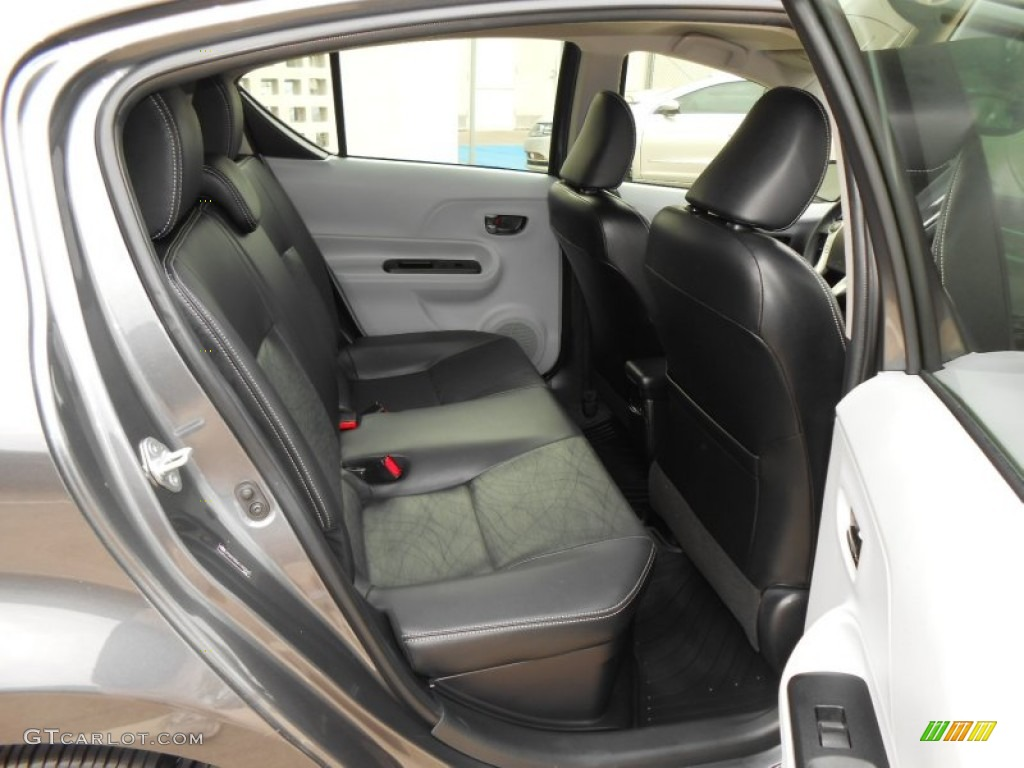 2017 Toyota Prius C Hybrid Four Interior Color Photos