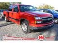 2006 Victory Red Chevrolet Silverado 1500 LT Crew Cab  photo #1