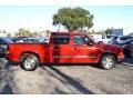 2006 Victory Red Chevrolet Silverado 1500 LT Crew Cab  photo #3
