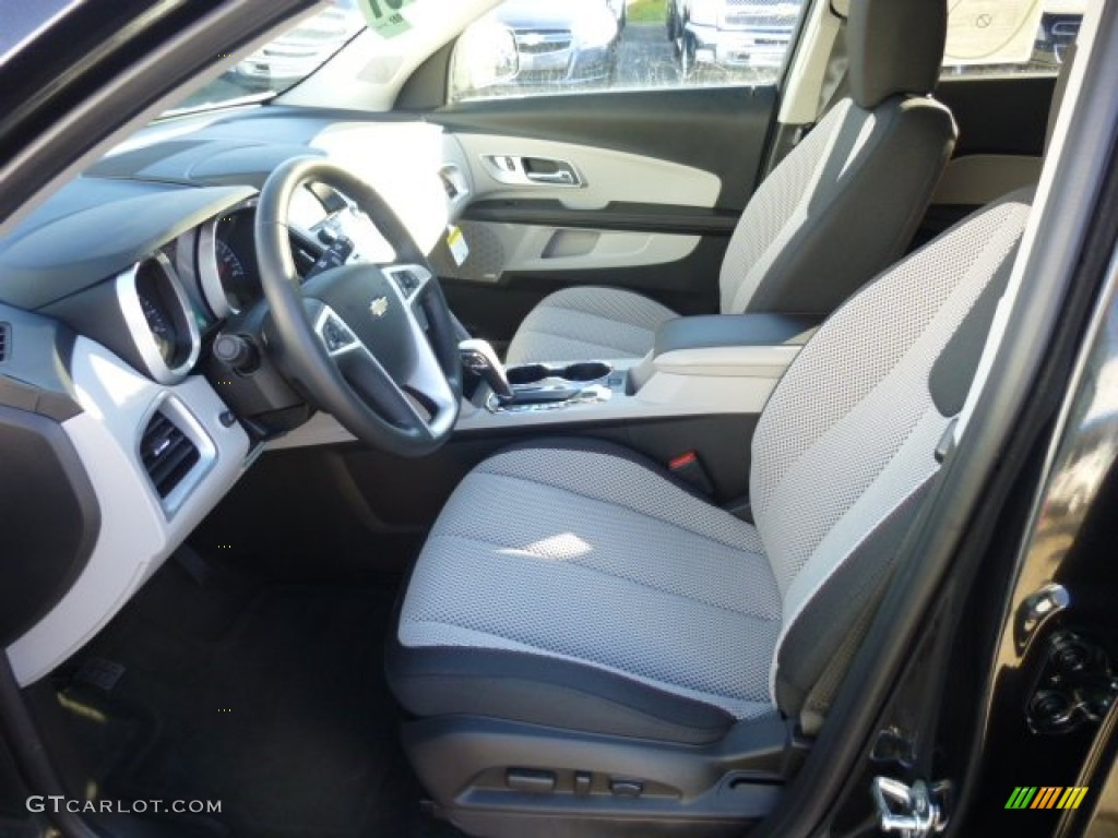 Light Titanium Jet Black Interior 2013 Chevrolet Equinox Lt Awd Photo 74825810