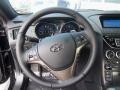 2013 Black Noir Pearl Hyundai Genesis Coupe 2.0T  photo #12