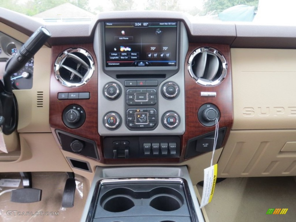 Ford F250 Super Duty King Ranch Crew Cab 4x4 In Kodiak Brown Metallic