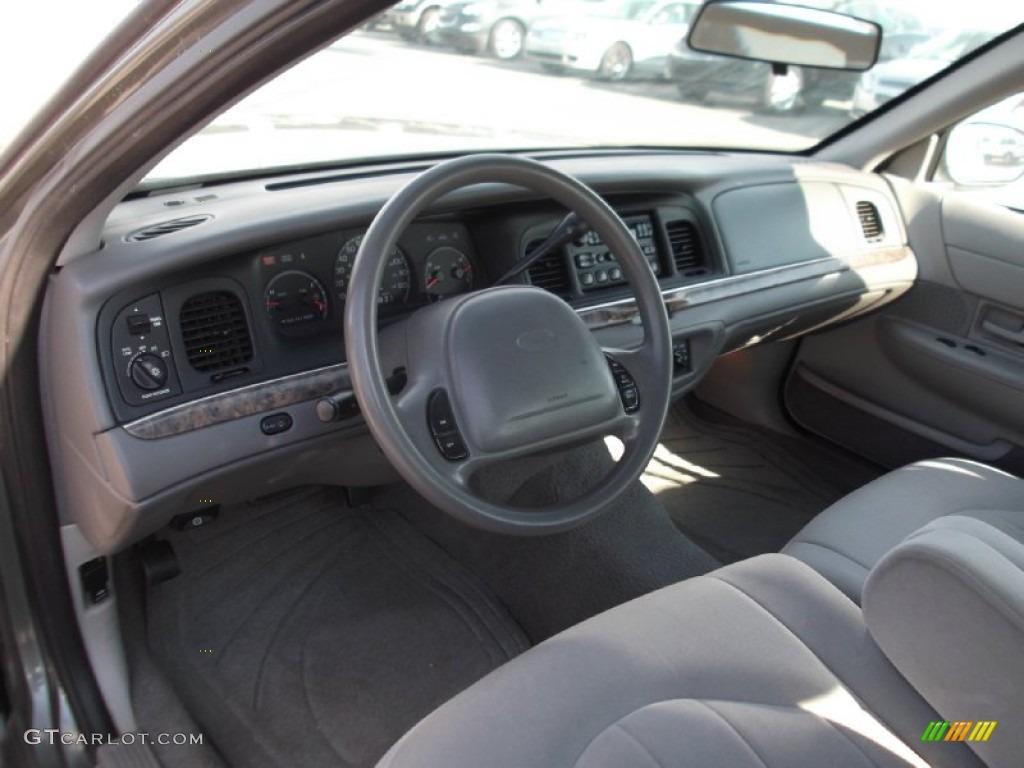 2000 Ford Crown Victoria Sedan Interior Color Photos