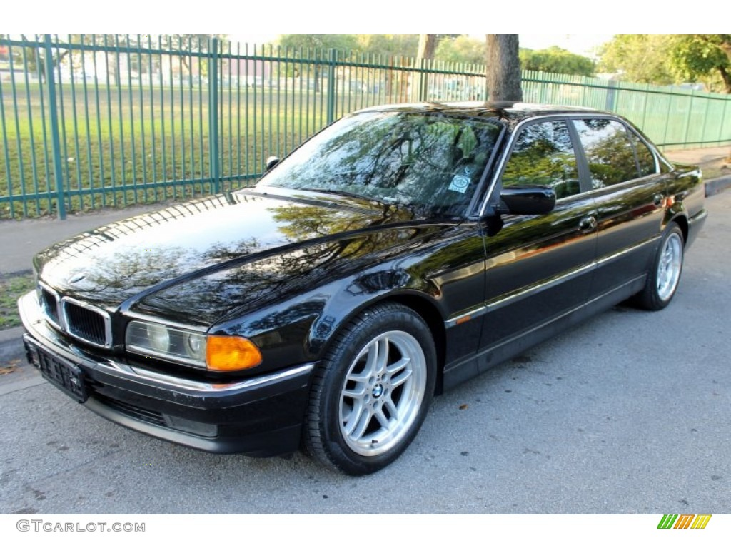 black ii 1998 bmw 7 series 740il sedan exterior photo. Black Bedroom Furniture Sets. Home Design Ideas