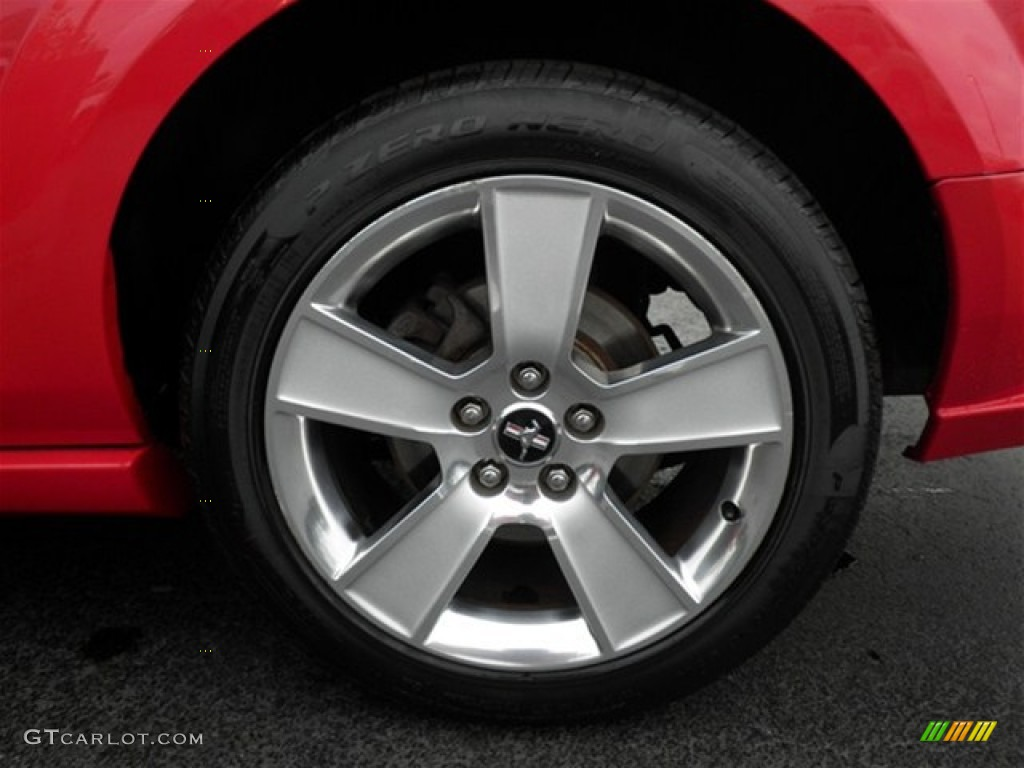 2006 Ford Mustang GT Premium Coupe Wheel Photo #74858182