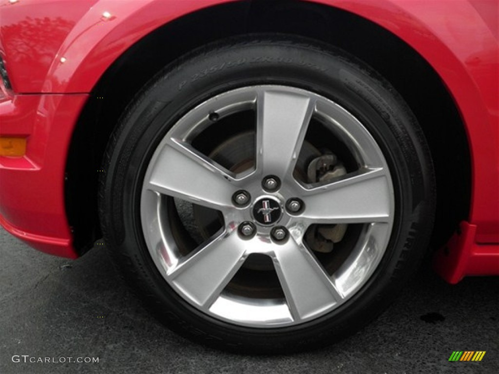 2006 Ford Mustang GT Premium Coupe Wheel Photo #74858198