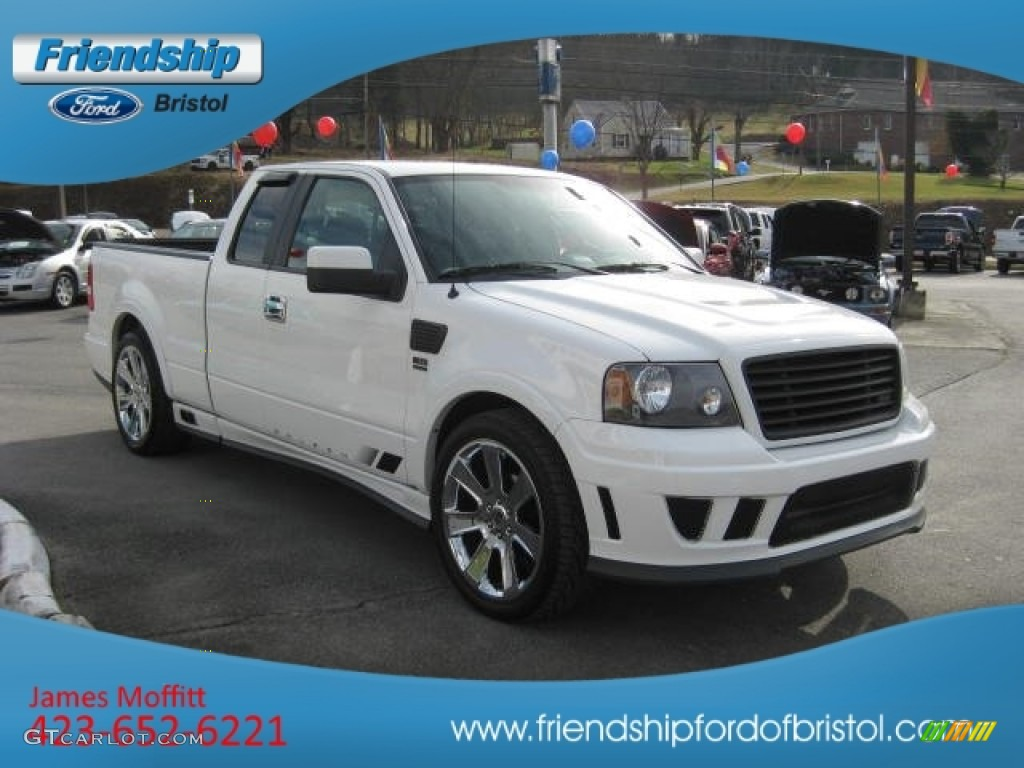 2007 oxford white ford f150 saleen s331 supercharged supercab 74850652 photo 4. Black Bedroom Furniture Sets. Home Design Ideas