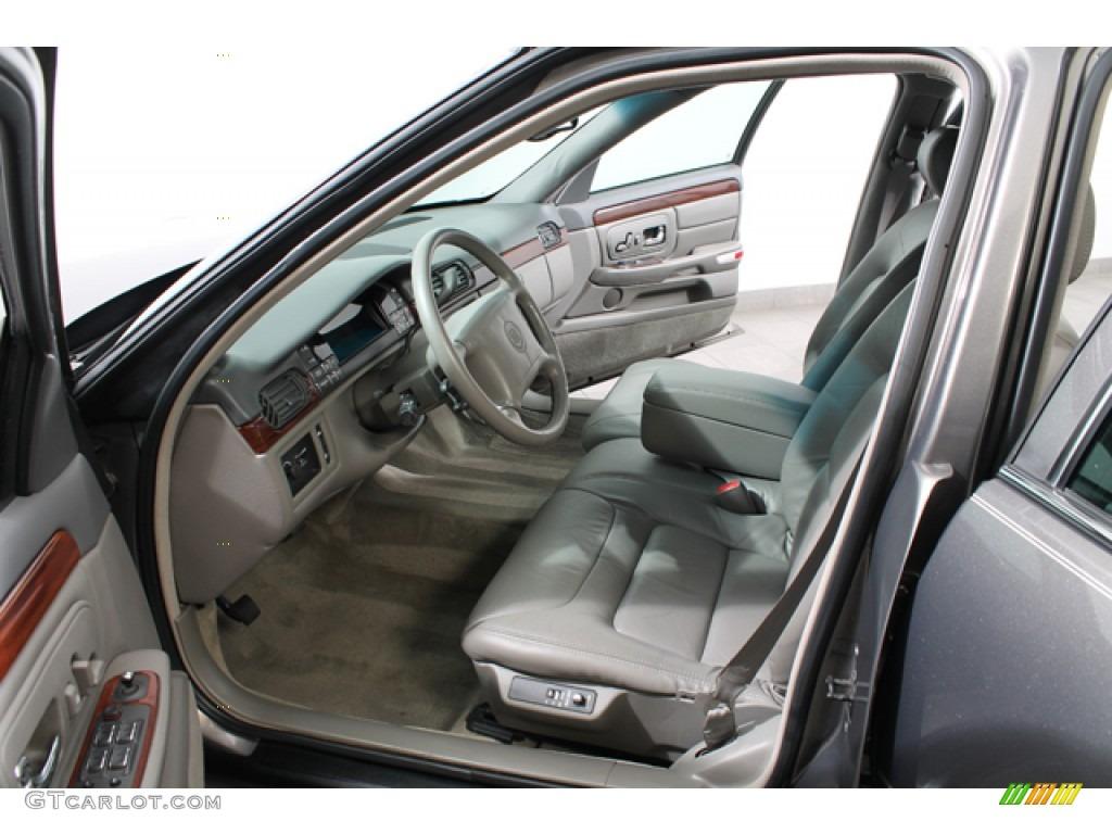 Pewter Interior 1999 Cadillac Deville Sedan Photo 74860322