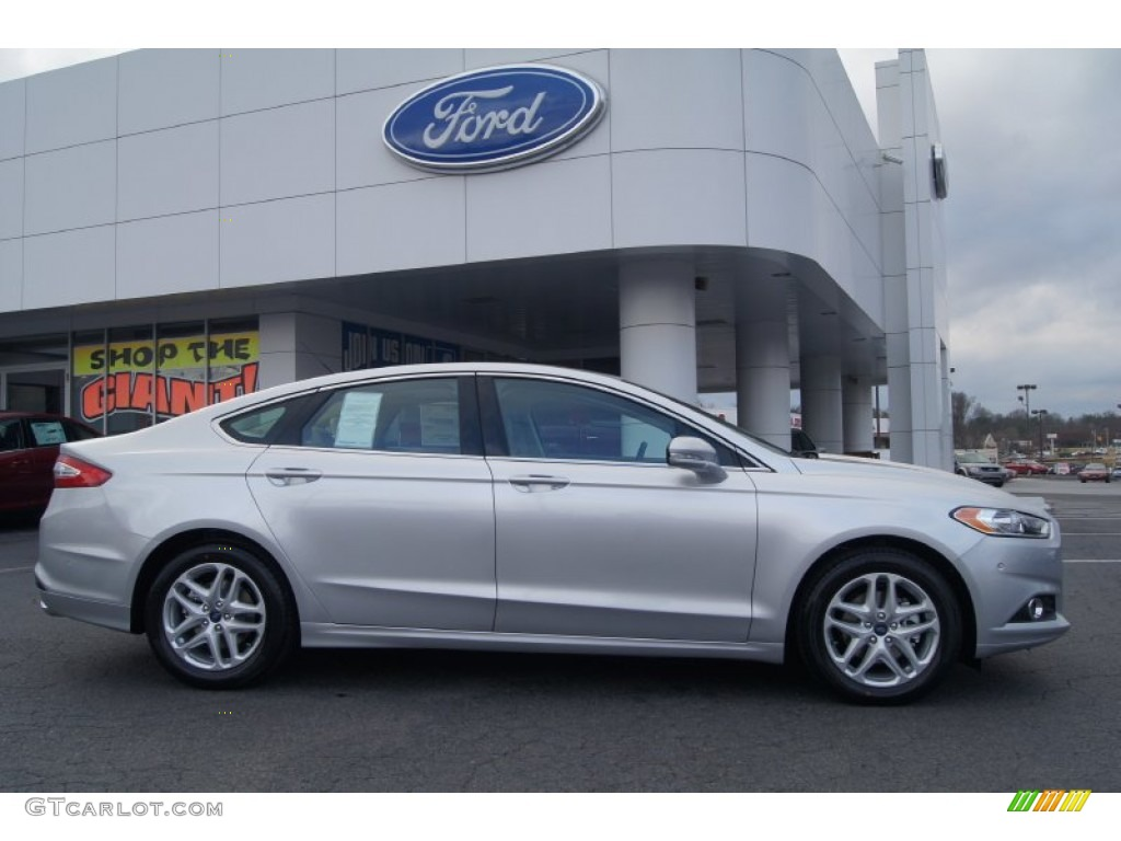 Ingot Silver Metallic 2013 Ford Fusion Se 1 6 Ecoboost Exterior Photo 74881929