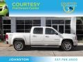 White Diamond Tricoat 2009 GMC Sierra 1500 SLT Crew Cab 4x4