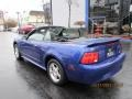 2003 True Blue Metallic Ford Mustang V6 Convertible  photo #18