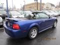 2003 True Blue Metallic Ford Mustang V6 Convertible  photo #19