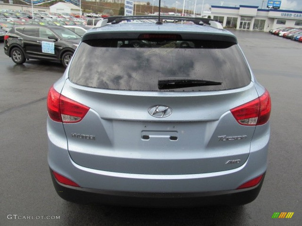2013 Aurora Blue Hyundai Tucson Gls Awd 74879310 Photo 4