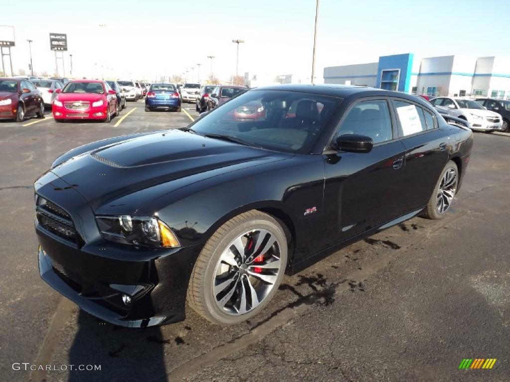 2013 Pitch Black Dodge Charger SRT8 74879607  GTCarLotcom  Car