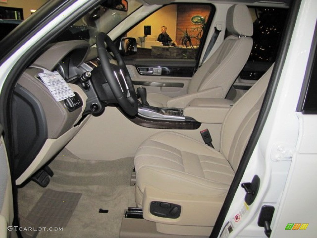 almond interior 2013 land rover range rover sport hse. Black Bedroom Furniture Sets. Home Design Ideas