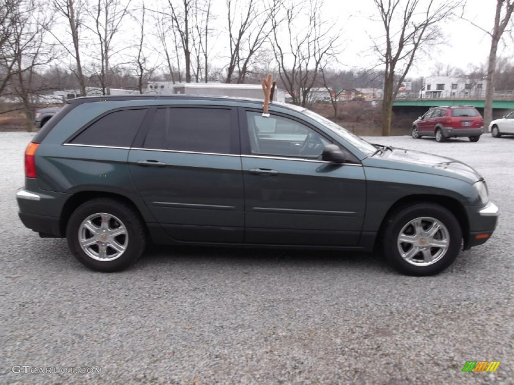 onyx green pearl 2004 chrysler pacifica awd exterior photo 74928932. Black Bedroom Furniture Sets. Home Design Ideas