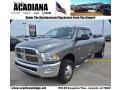 2010 Mineral Gray Metallic Dodge Ram 3500 Big Horn Edition Crew Cab 4x4 Dually  photo #1