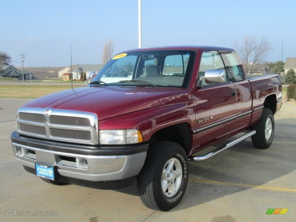 claret red pearl 1996 dodge ram 1500 slt extended cab 4x4 exterior photo 74944981. Black Bedroom Furniture Sets. Home Design Ideas
