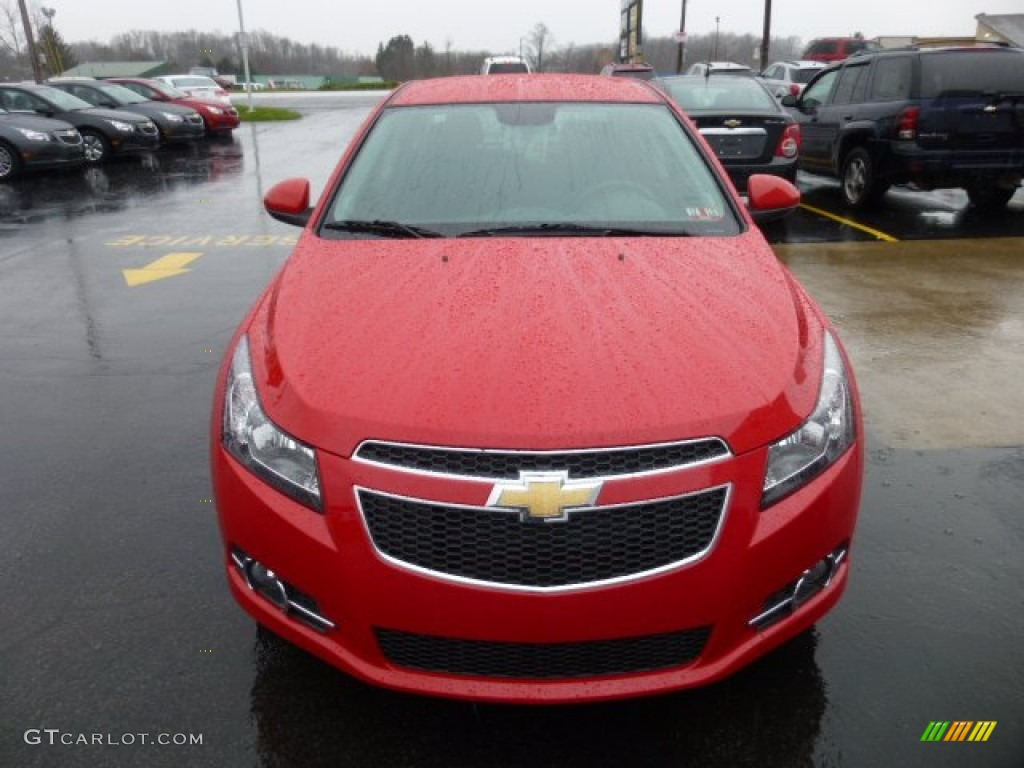 Victory Red 2013 Chevrolet Cruze Lt Rs Exterior Photo 74954146