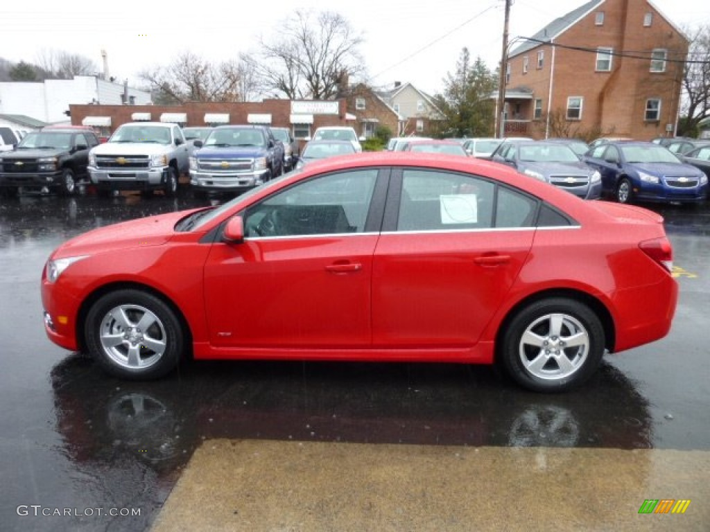 Victory Red 2013 Chevrolet Cruze Lt Rs Exterior Photo 74954173