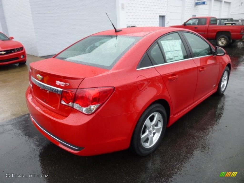 Victory Red 2013 Chevrolet Cruze Lt Rs Exterior Photo 74954235