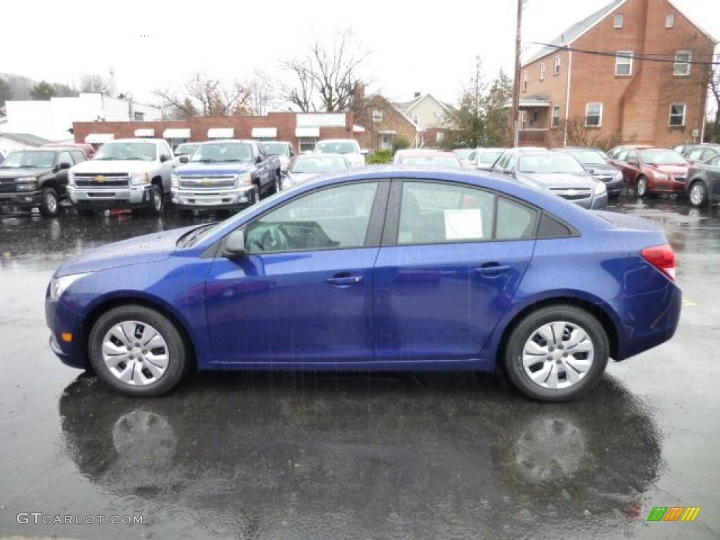 Blue Topaz Metallic 2013 Chevrolet Cruze Ls Exterior Photo 74954533