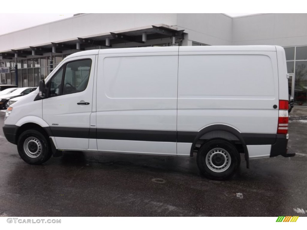 Arctic white 2012 mercedes benz sprinter 2500 cargo van for Mercedes benz 2500 cargo van
