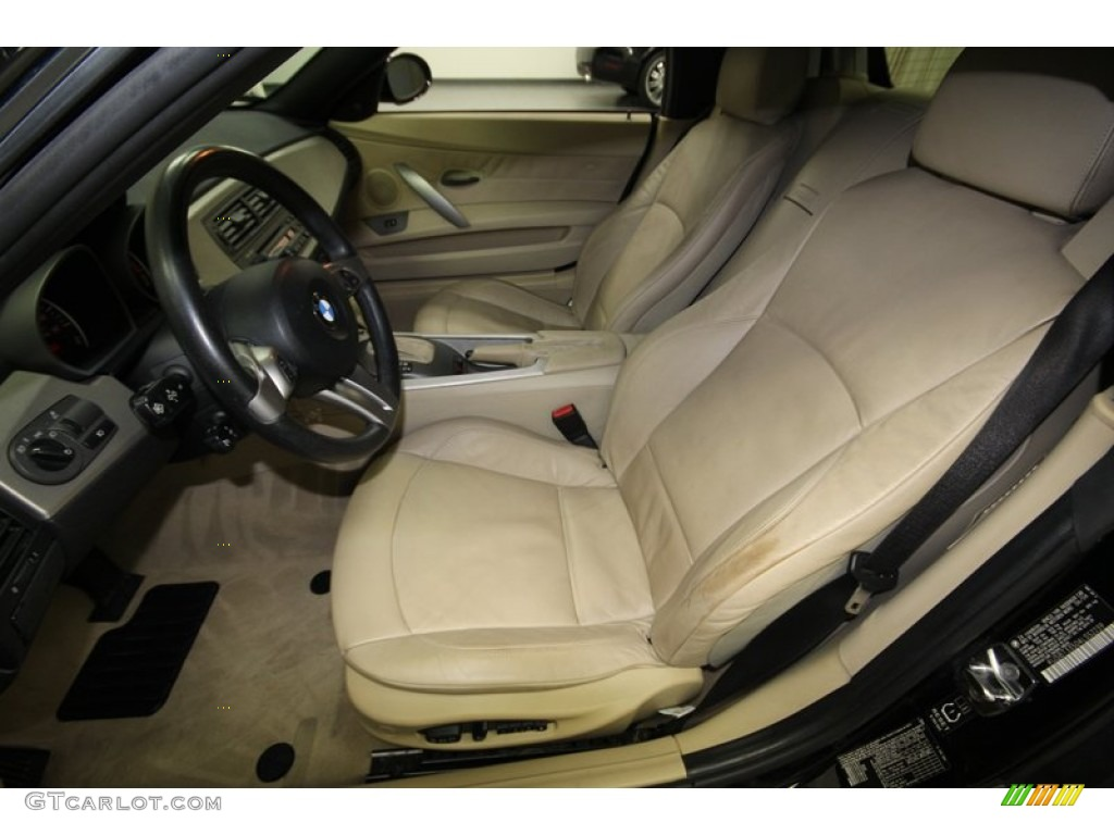 2004 Bmw Z4 2 5i Roadster Front Seat Photo 74969041