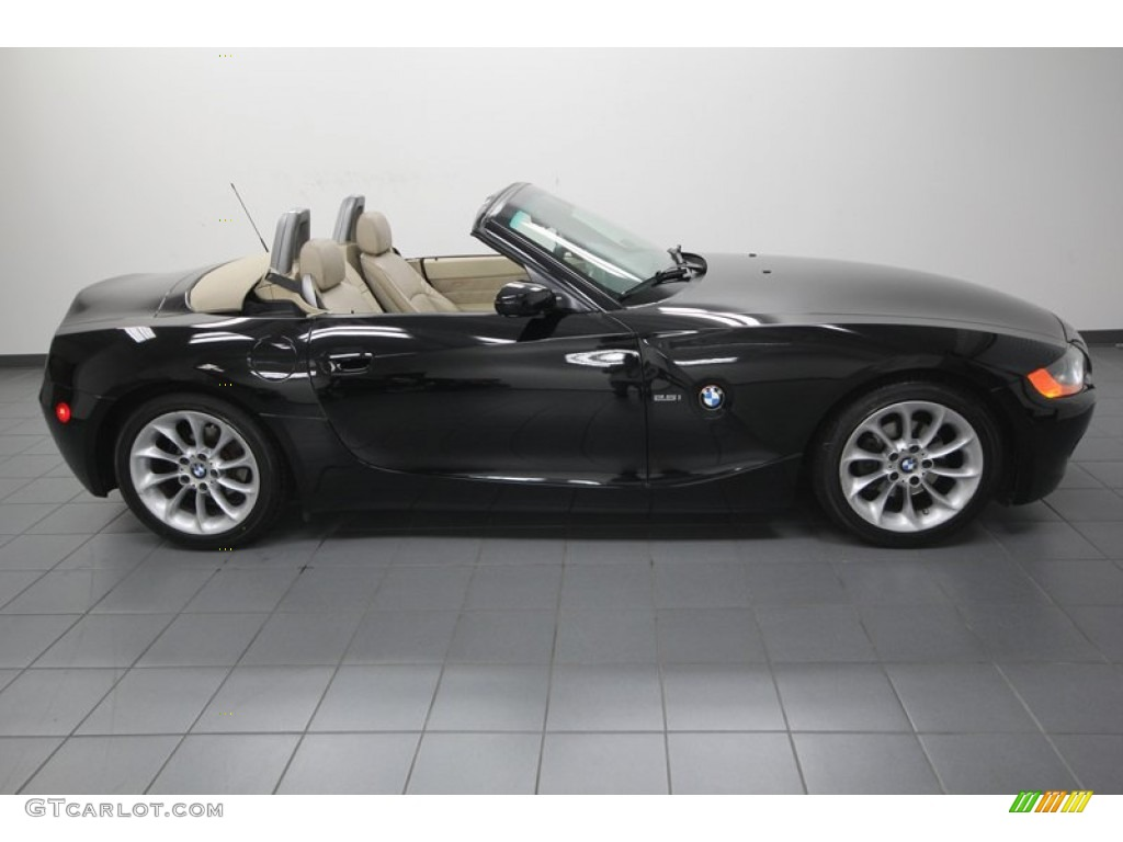 Black Sapphire Metallic 2004 Bmw Z4 2 5i Roadster Exterior Photo 74969085 Gtcarlot Com