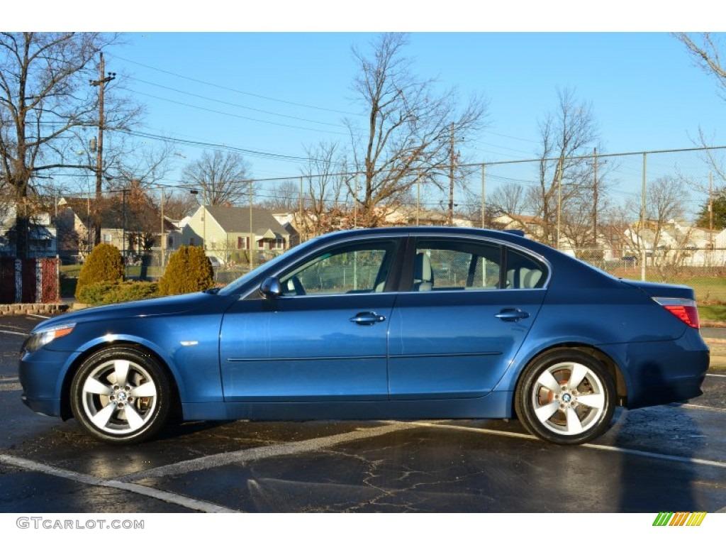mystic blue metallic 2004 bmw 5 series 530i sedan exterior photo 74974416. Black Bedroom Furniture Sets. Home Design Ideas
