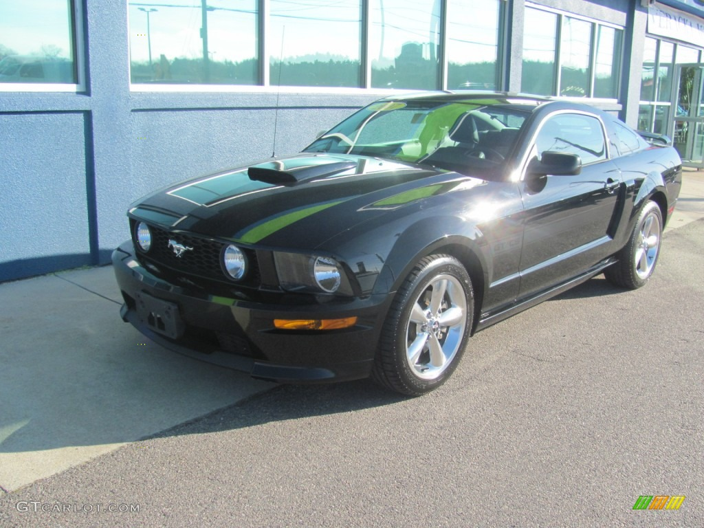 2007 Mustang GT/CS California Special Coupe - Black / Black/Dove Accent photo #1