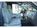 2013 F150 XLT Regular Cab 4x4 Steel Gray Interior