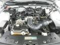 2007 Satin Silver Metallic Ford Mustang V6 Deluxe Coupe  photo #9