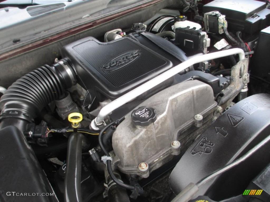 2006 gmc envoy sle 4x4 4 2 liter dohc 24 valve vortec inline 6 cylinder engine photo 74981289. Black Bedroom Furniture Sets. Home Design Ideas