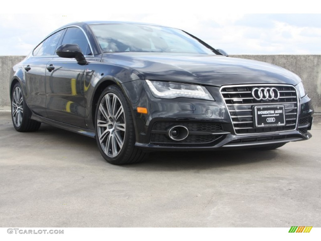 2013 Phantom Black Pearl Effect Audi A7 3.0T quattro ...