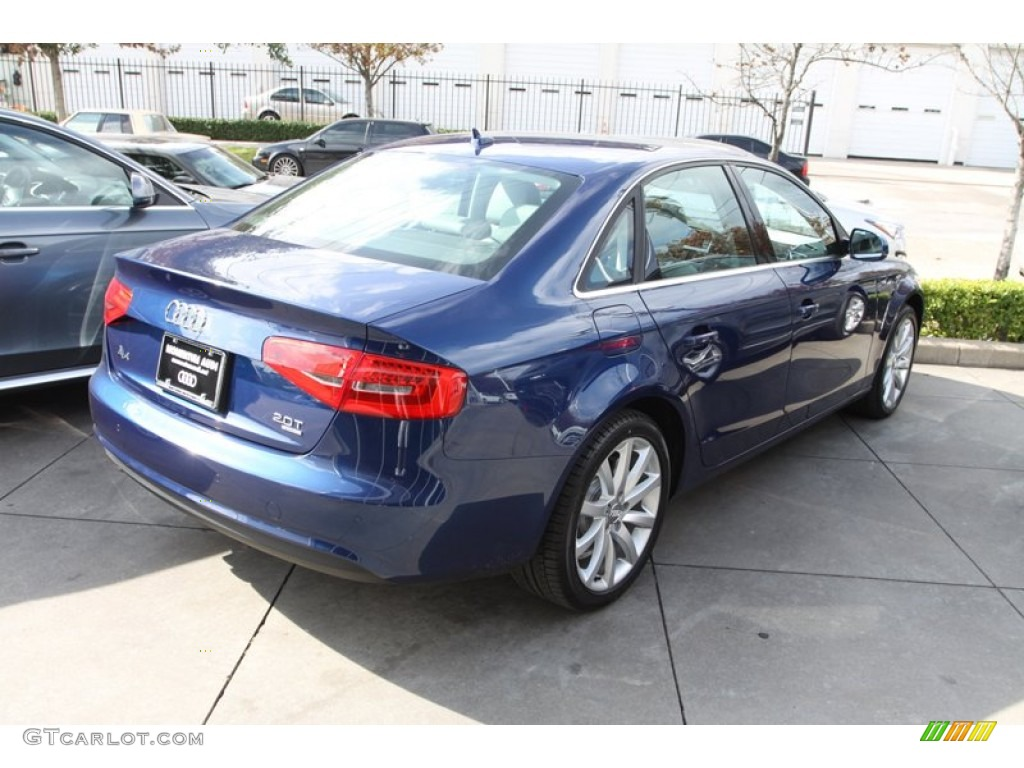 2013 a4 2 0t quattro sedan scuba blue metallic titanium gray photo 7