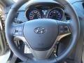 2013 Black Noir Pearl Hyundai Genesis Coupe 3.8 Track  photo #31