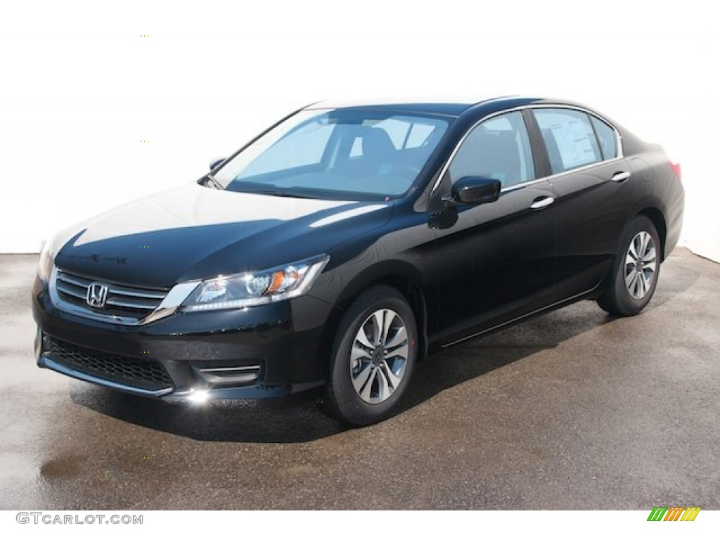 2008 Honda Accord Ex L V6 Sedan Crystal Black Pearl 2013 Honda Accord LX Sedan Exterior Photo ...
