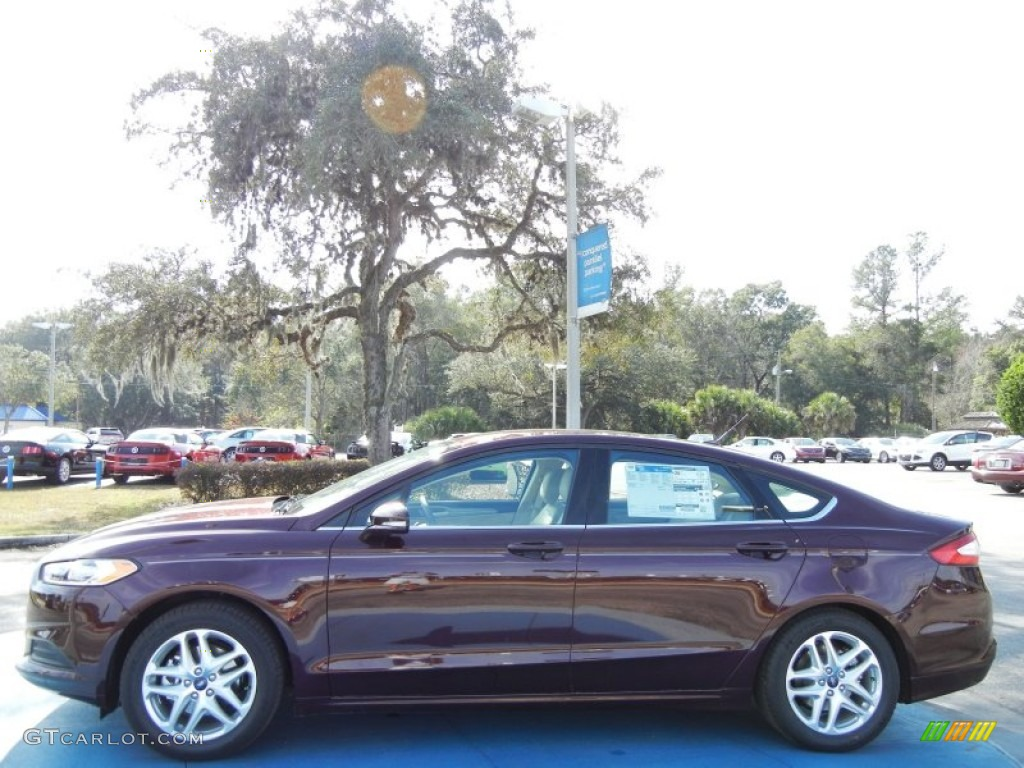 Bordeaux Reserve Red Metallic 2013 Ford Fusion Se Exterior Photo 75022614