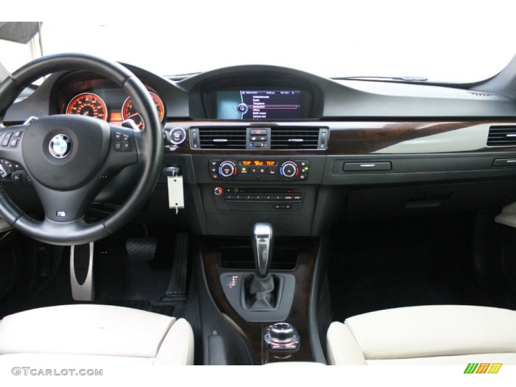 BMW Series I Coupe OysterBlack Dakota Leather Dashboard - 2011 bmw 328i coupe