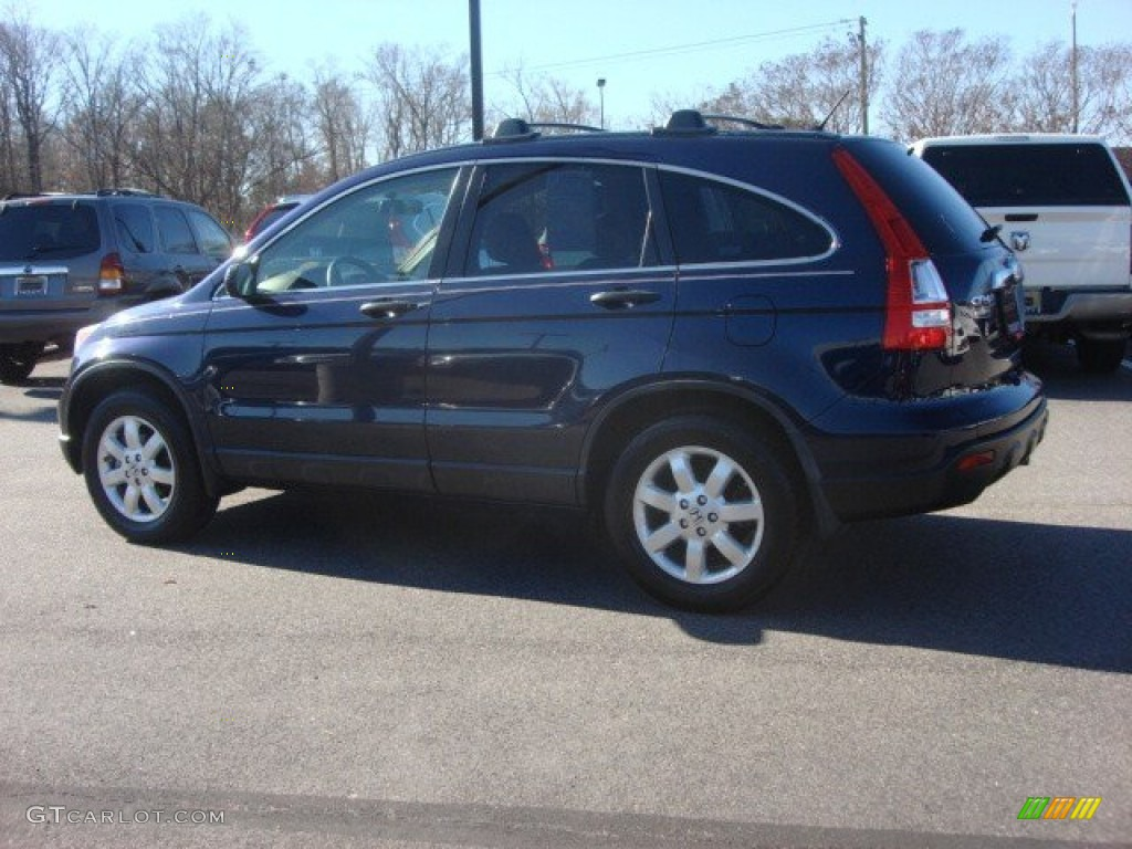 2008 CR-V EX 4WD - Royal Blue Pearl / Gray photo #3