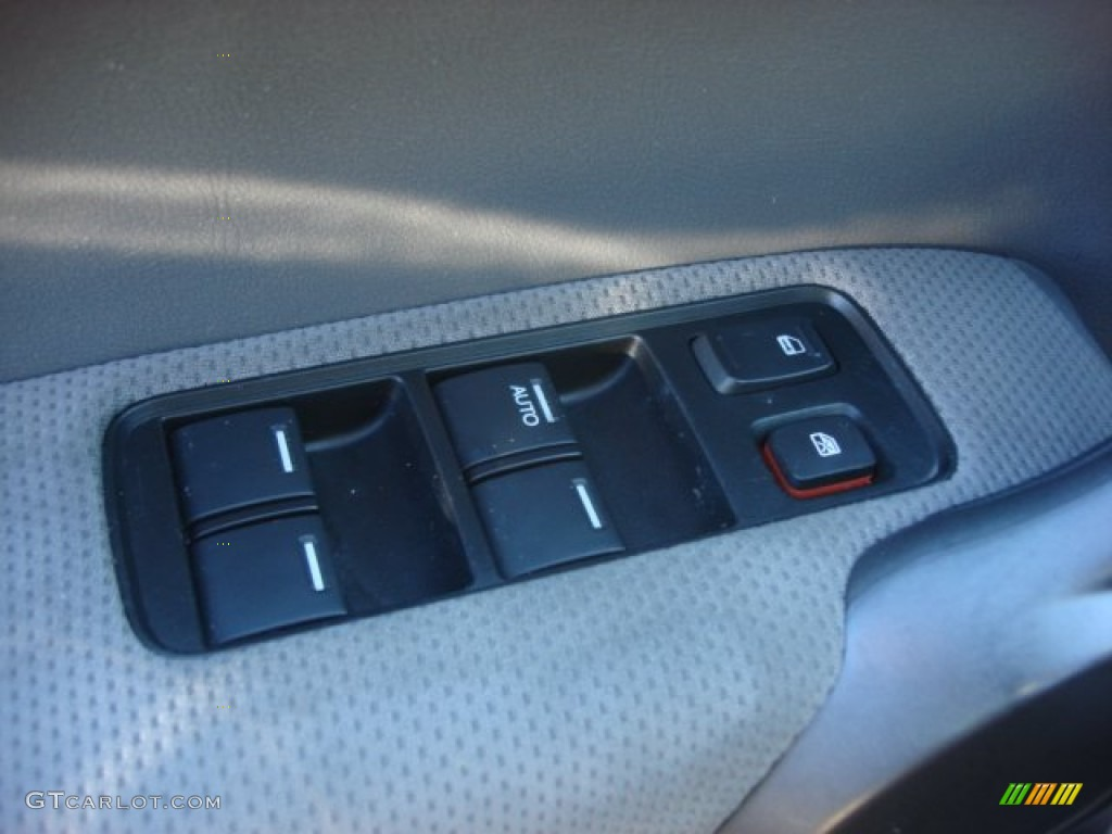 2008 CR-V EX 4WD - Royal Blue Pearl / Gray photo #13