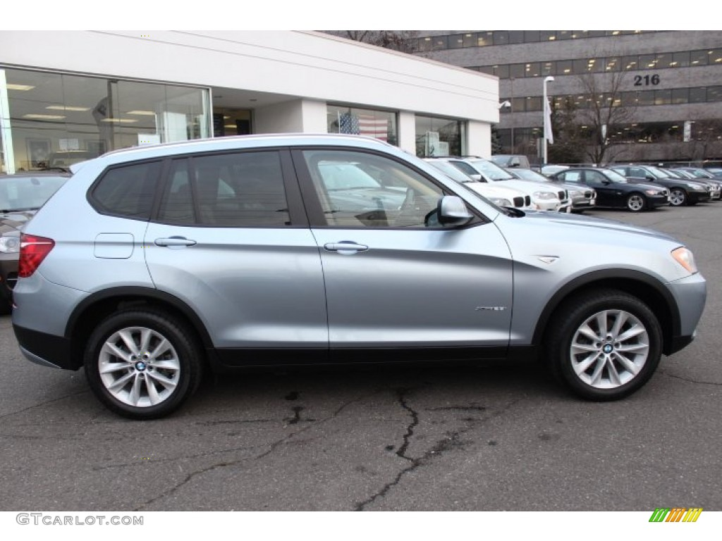 Blue Water Metallic 2013 Bmw X3 Xdrive 28i Exterior Photo 75051845