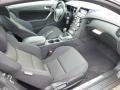 Black Cloth Interior Photo for 2013 Hyundai Genesis Coupe #75061414