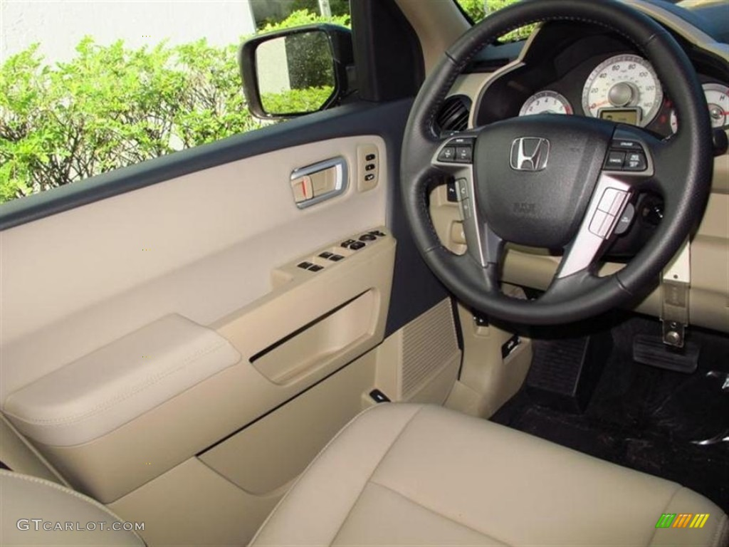 2013 Dark Amber Metallic Honda Pilot Touring 4wd 75073718 Photo 5 Car Color