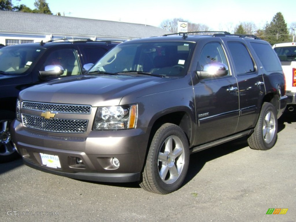2013 mocha steel metallic chevrolet tahoe ltz 4x4 75073909 car color galleries. Black Bedroom Furniture Sets. Home Design Ideas